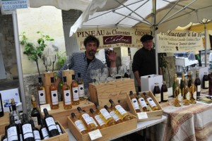 Don't forget to visit this regional wine stall
