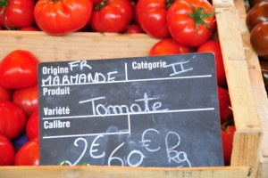 And the famous Marmande tomatoes!