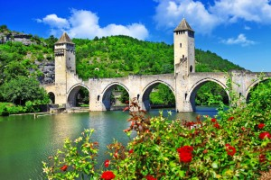 Cahors Valentre bridge