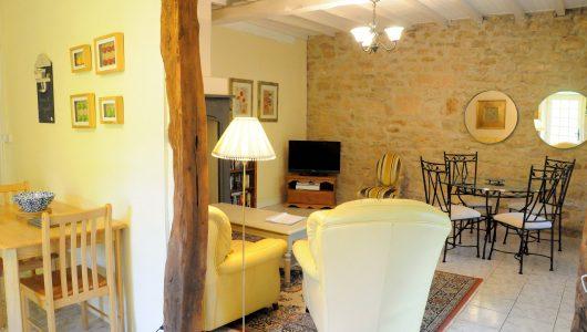 Millers Cottage living room