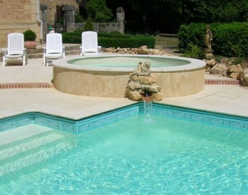 Manoir Seguinet - child's pool