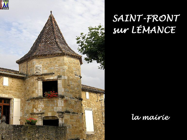 La Marie in the village of Saint Front sur Lemance.  It is a 3 minute walk from Le Seguinet.  The village is very quaint with a 12th century church and beautiful stone architecture