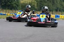 Bergerac Karting, a fun day for the family or a group of adults  It is for ages 7 and up and is supervised by a qualified instructor.  It is a great to spend the afternoon whizzing around the tracks