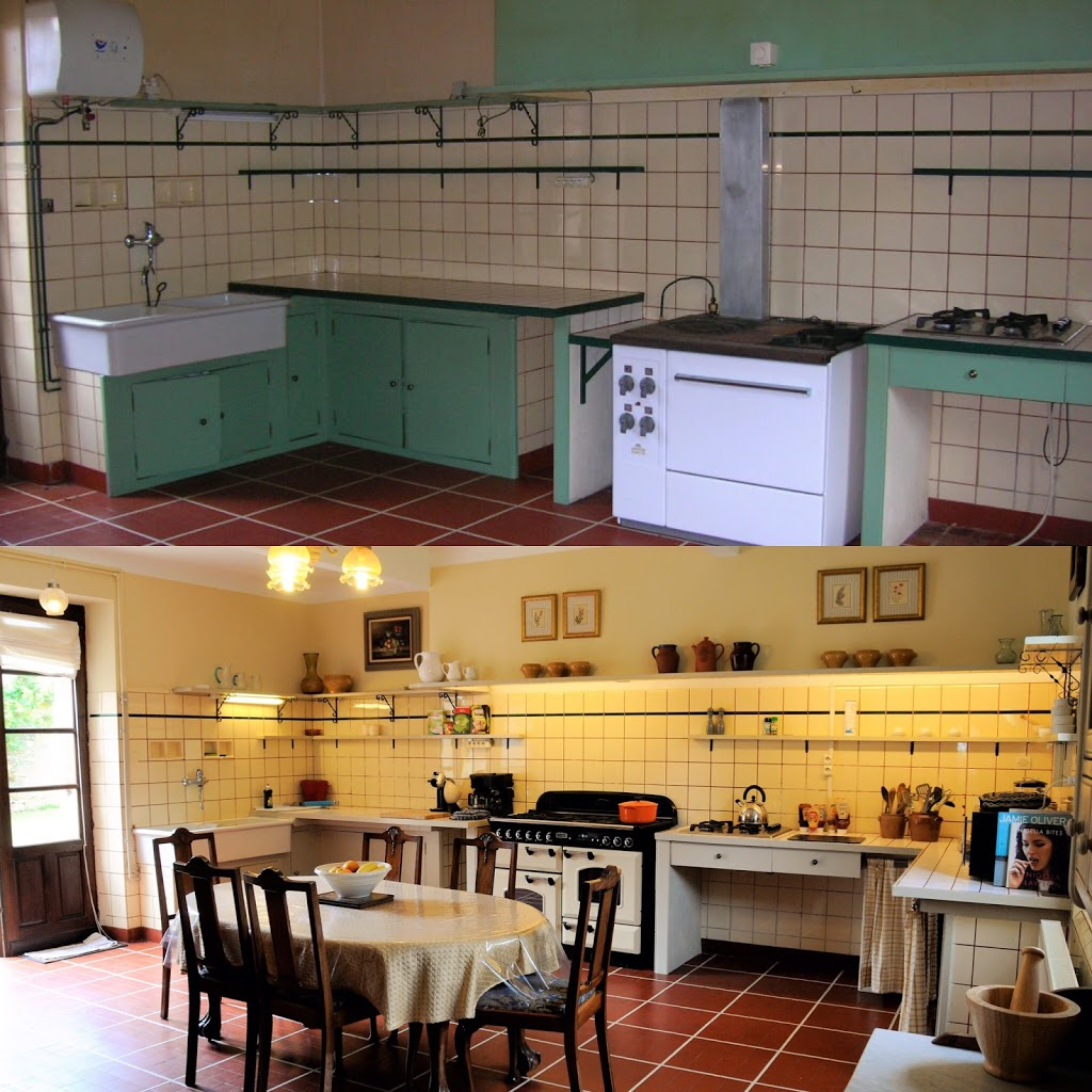 The kitchen in the Manoir
